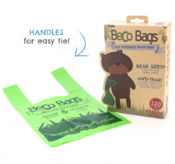Beco Poop Bags - Handle Pack (120 bags)